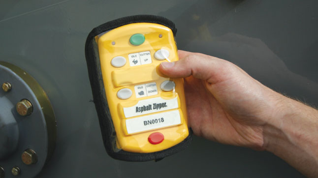 Asphalt Zipper Products Controls And Monitoring